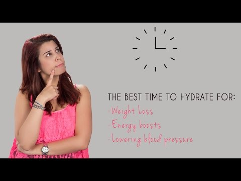 When To Drink Water For Weight Loss And Healthy Living
