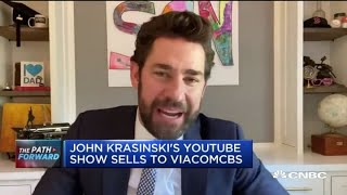 ViacomCBS buys John Krasinski's 'Some Good News' YouTube show