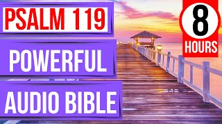 Psalm 119: Powerful Audio Bible verses for sleep with music