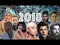 In The Middle of 2018 [Year End Mashup] ft. Ariana, Drake,  Post Malone, Shawn Mendes, and 30+ more