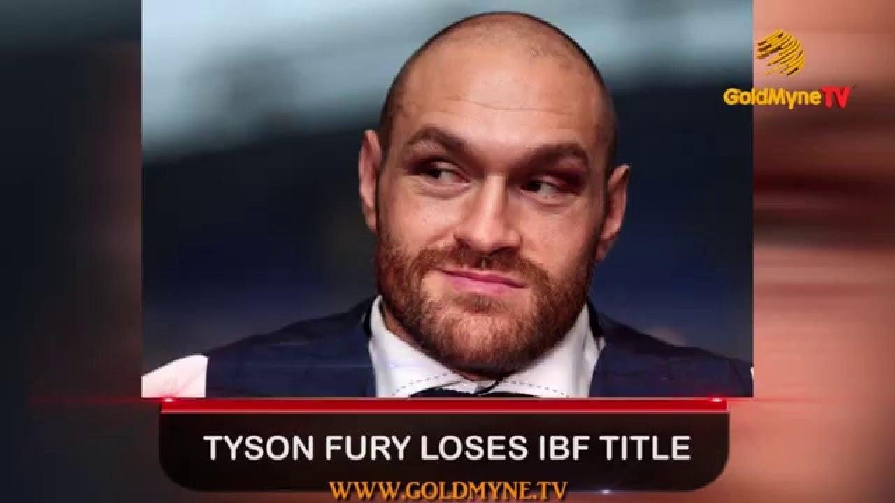 Tyson Fury lost his IBF champion title 09.12.2015 60