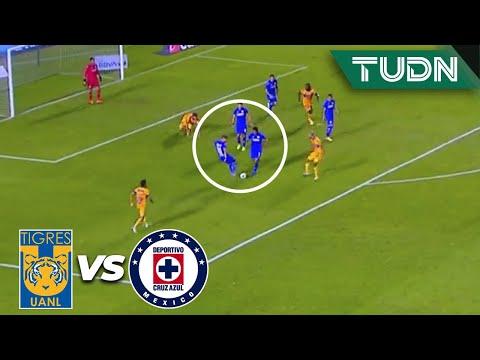 ¡UNA FIESTA! Se pierde la defensa celeste | Tigres 0-1 Cruz Azul |Guard1anes 2020 Liga BBVA MX |TUDN