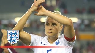 England Women captain Steph Houghton answers questions from young fans | #ask...