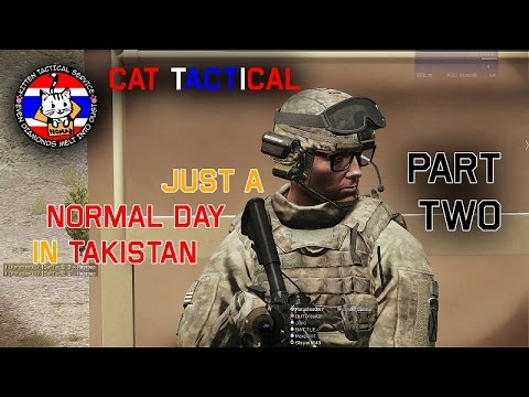 [Jono Casting] Just a normal day in Takistan 2/3 | CatTac ArmA 3
