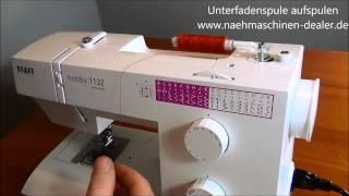 видео Швейная машинка Пфафф (Pfaff)