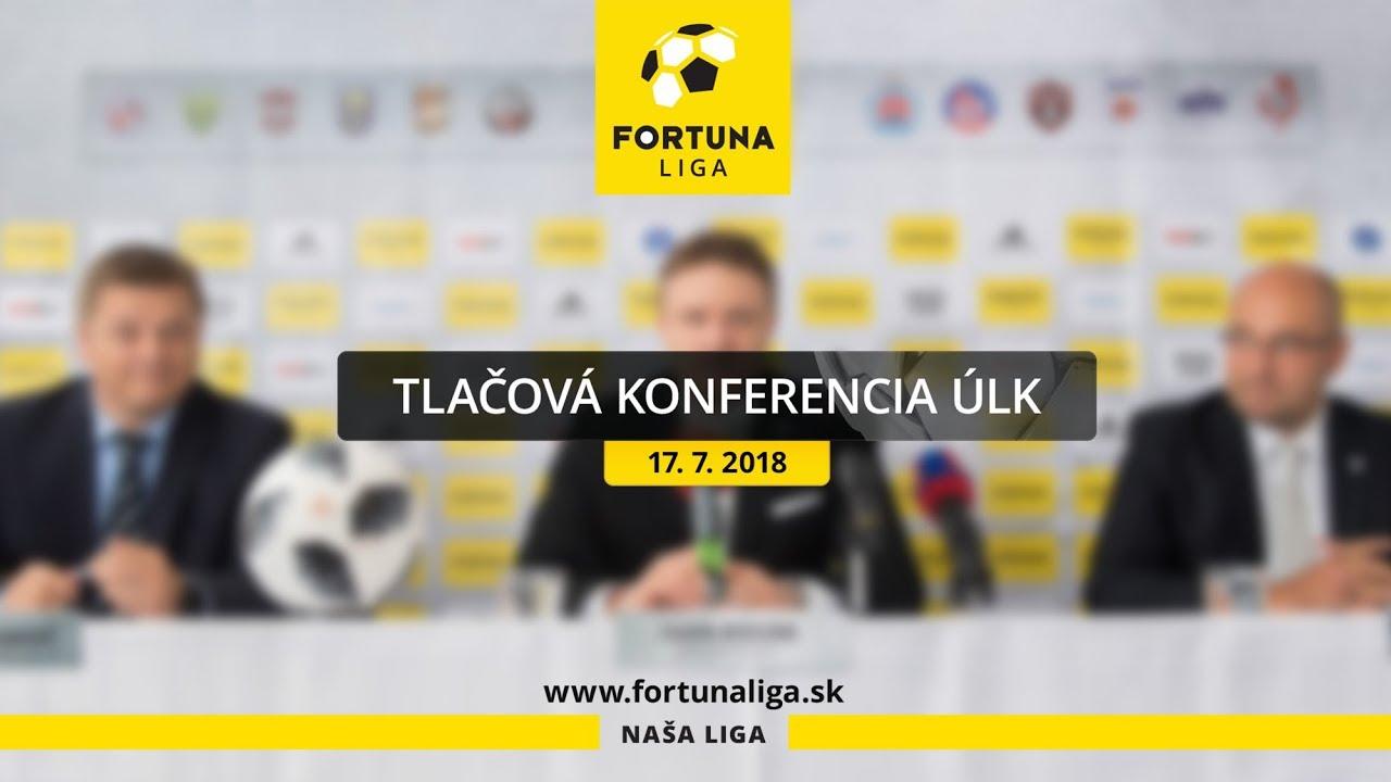 3a9494ac9a Tlačová konferencia pred štartom Fortuna ligy (17.7.2018) - YouTube