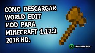 Como Descargar E Instalar WORLD EDIT - MOD Para Minecraft 1.13.2 - 2019 HD.