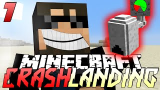 Minecraft Crash Landing 7 - PNEUMATIC CRAFT