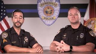 Gainesville PD: On Duty August 2017
