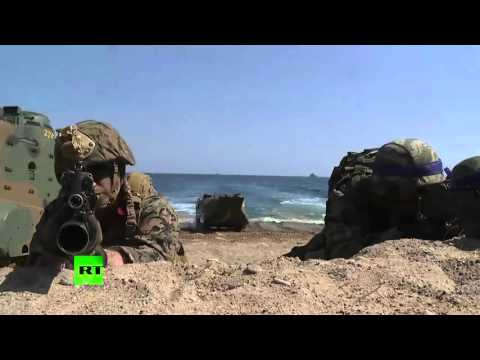 Amphibious Exercise: US and South Korea hold military drills