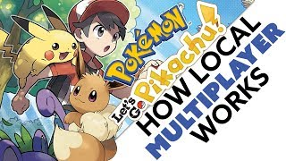 Pokemon Let's Go! Exclusive Pokemon & How Local Multiplayer Works!
