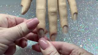 How To Attach Nail Tips To A Red Iguana Practise Hand Without Any Damage!