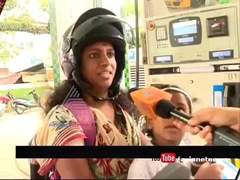 Riders from Trivandrum responds about the 'No Helmet No Petrol' Rule