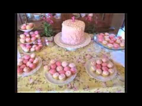 Vintage Baby Shower Cakes Youtube