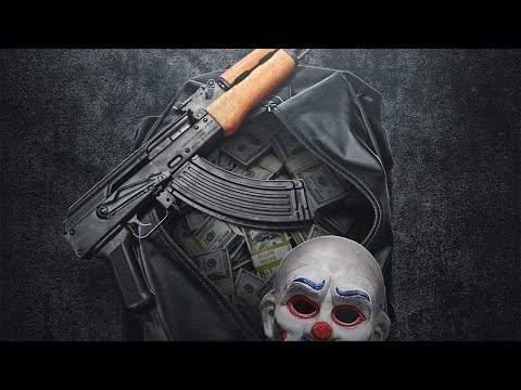 Money in a Duffel Bag - Photoshop Tutorial