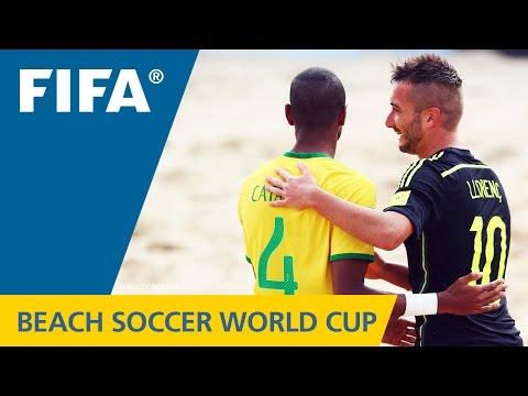 HIGHLIGHTS: Brazil V. Spain - FIFA Beach Soccer World Cup 2015