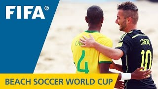 HIGHLIGHTS: Brazil v. Spain - FIFA Beach Soccer World Cup 2015