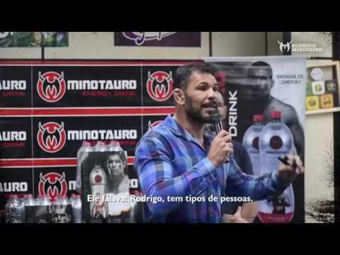 PALESTRA MOTIVACIONAL - Irmãos Nogueira Palestram Para a Minotauro Energy Drink