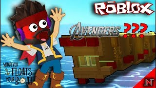 ROBLOX Indonesia #30 WhatEverFloatYourBoats | Meet the AVENGERS 😁😁😁😂 ship