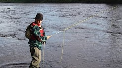 Tornionjoki, Pello: perhokalastus - 2014 - Fly fishing in Tornio River in Pello Lapland Finland