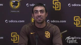 Padres pitcher Daniel Camarena on surreal grand slam in Padres 9-8 comeback win over the Nationals