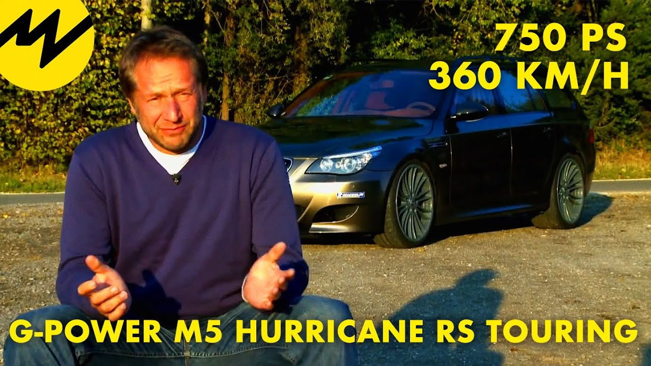 G Power M5 Hurricane Rs Touring Youtube