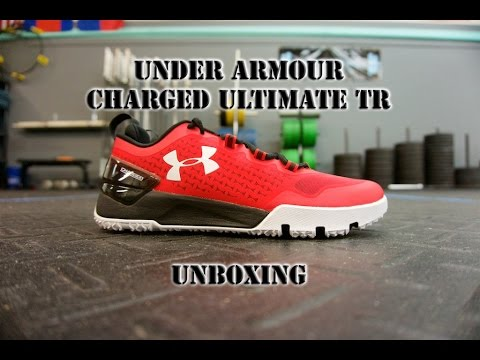 Unboxing the Under Armour Charged Ultimate TR Low Functional Training Shoes