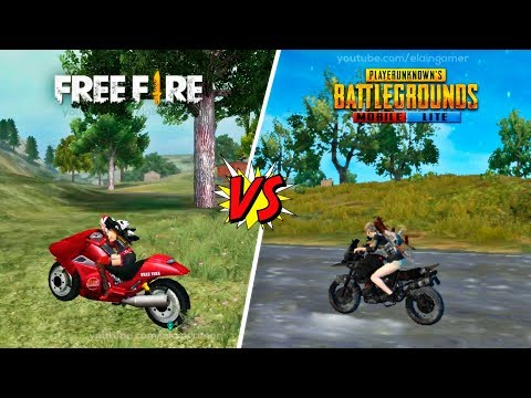 Garena Free Fire vs. Pubg Mobile Lite   Comparison 2019