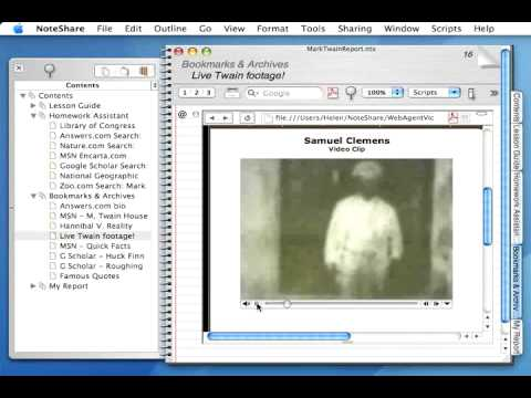 Using NoteShare With Web Research Agents