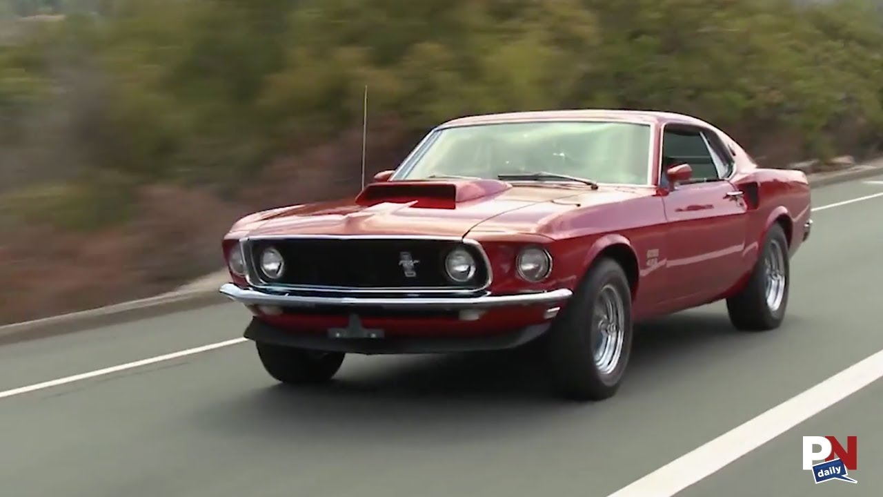 You can now own an officially licensed brand new 1969 ford mustang boss 429