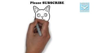 Menggambar Binatang (KUCING) || Draw Animals (CAT)