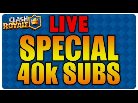 Live special 40k SUBS