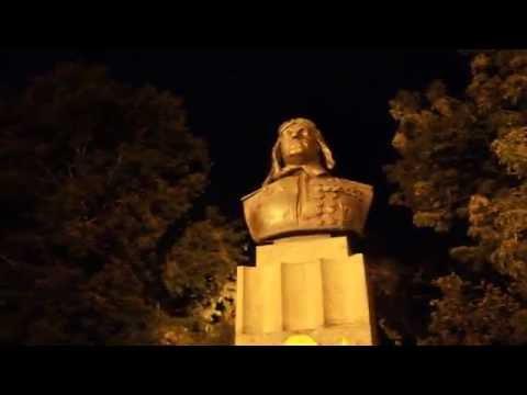 Вечерний Новороссйск Прогулка Катание на машинках Evening Novorossisk Walk Riding cars