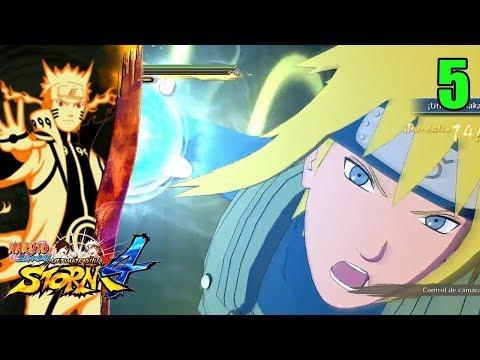Kakashi y Obito Modo Historia - Naruto Shippuden Ultimate Ninja Storm 4 Ep 5