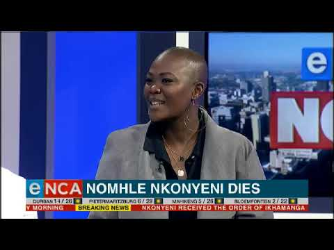Nomhle Nkonyeni dies