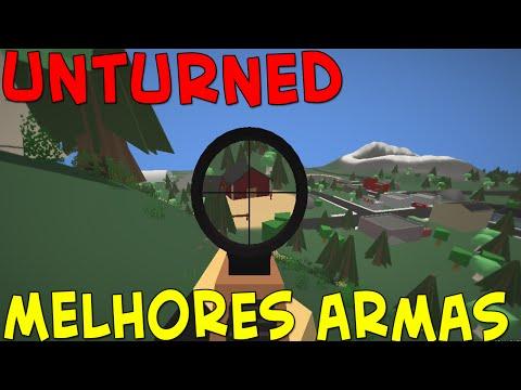 Como conseguir as melhores armas - Unturned (Minecraft + Dayz)