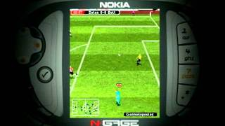 Nokia N-Gage FIFA Soccer 2005 Trailer