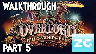 Overlord Fellowship of Evil (Xbox One/PS4/Pc Steam) Walkthrough - Part 5 Gameplay HD