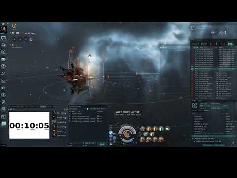 Eve online. Tengu Drone 10/10 expeditions, under 50min (GUIDE)