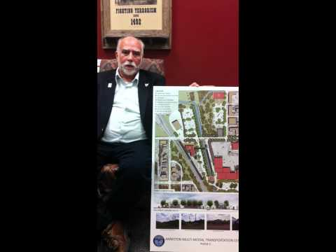 Discussing Anniston's Multi-Modal Transportation Center