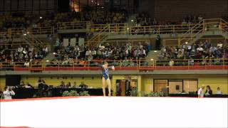 Clara Colombo ITA - FX - Finals - L'International Gymnix 2015