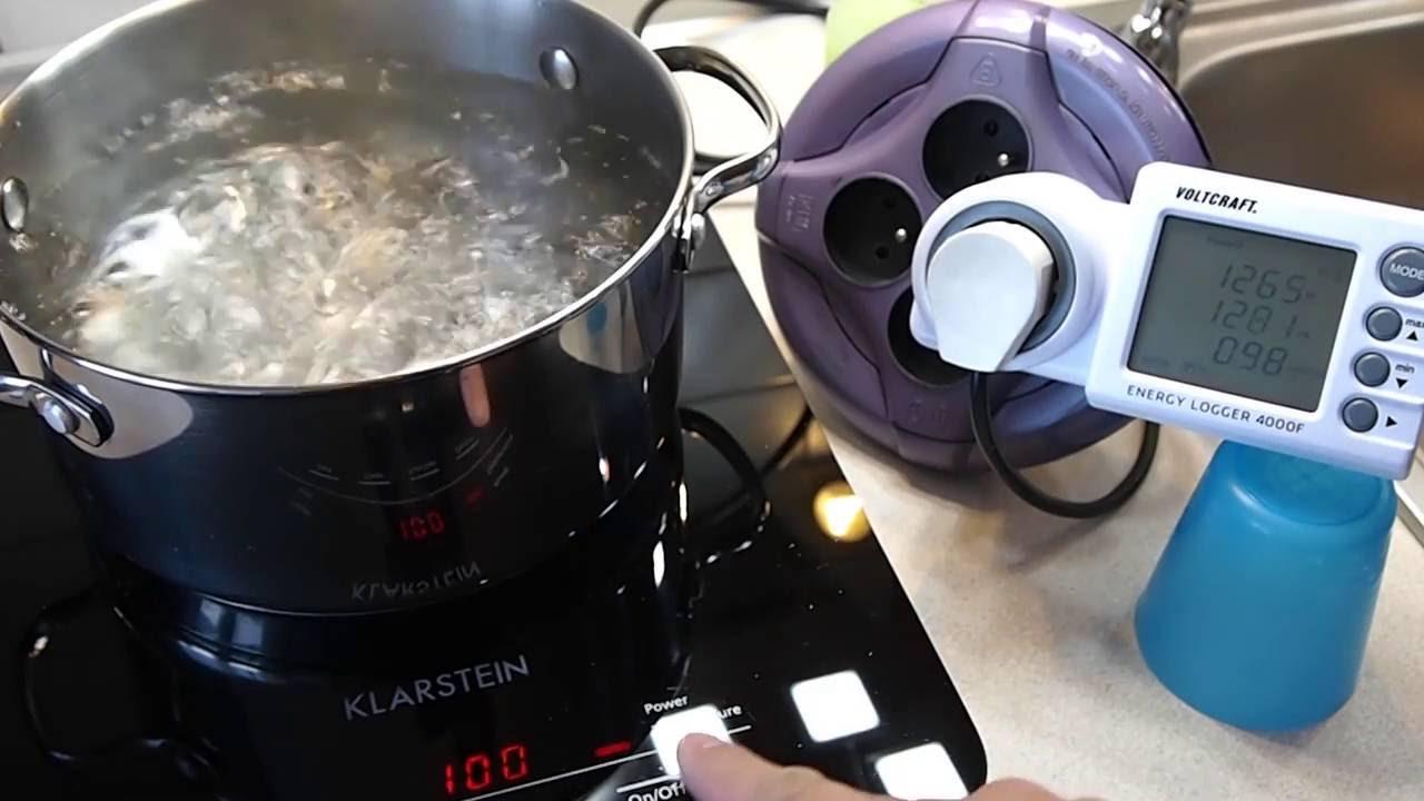 Kuchnia Indukcja Czas Gotowania 2 Litrow Wody Youtube