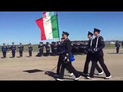 Giuramento solenne per il 18° Corso Allievi Marescialli dell'Aeronautica Militare