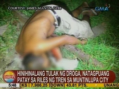 UB: Hinihinalang tulak ng droga, natagpuang patay sa riles ng tren sa Muntinlupa City