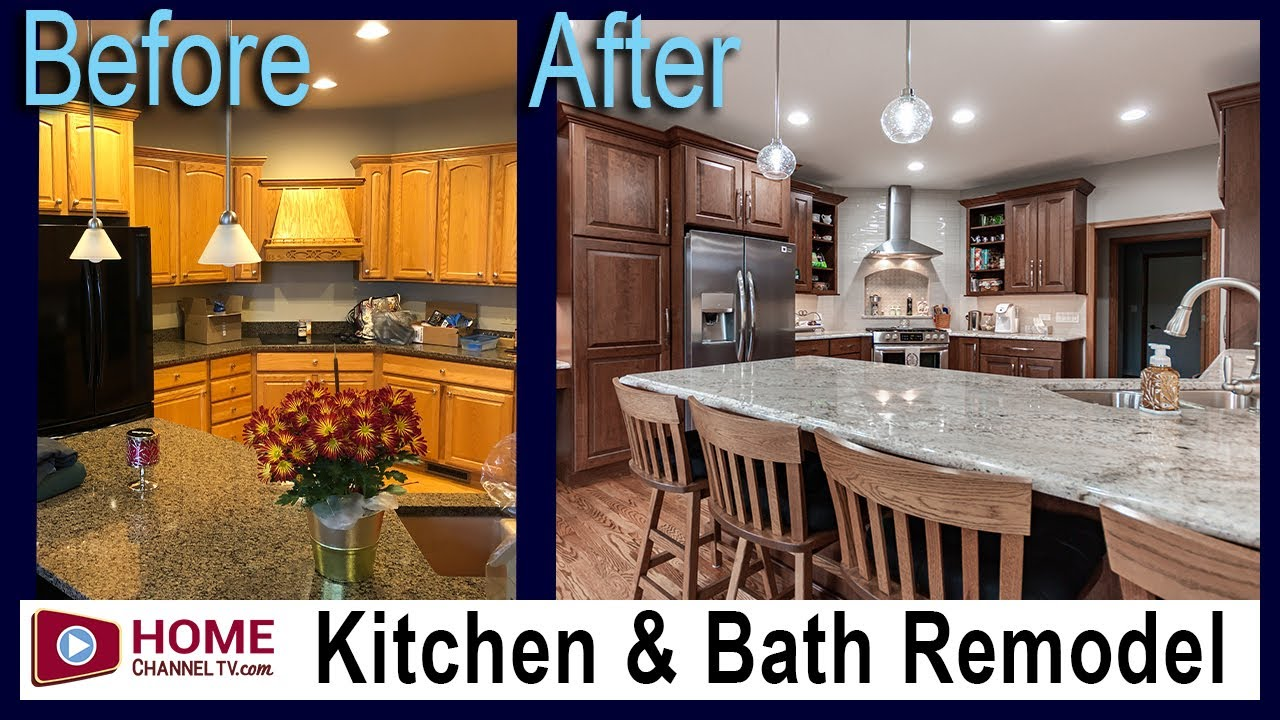 Kitchen & Master Bathroom Remodel - Before and After Makeover Redesign