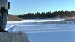 Экстрим по реке Яйва на снегоходах.(, 2012-12-13T07:51:51.000Z)