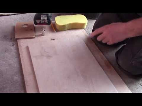 how to cut a hole in ceramic tile youtube