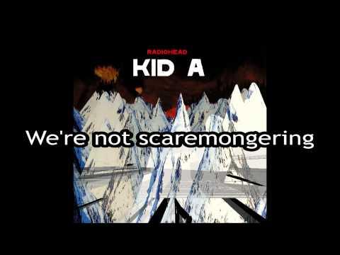 Radiohead - Idioteque [Lyrics]