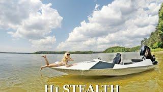 Speed boat H1 STEALTH HORN BOATS- klip promocyjny (+bonus)