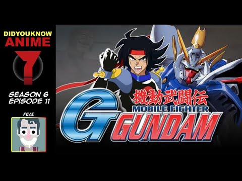 G Gundam - Did You Know Anime? Feat. Toby Jones (Cartoon Network)